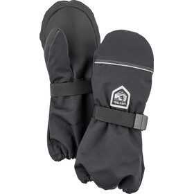 Hestra Wool Terry Mitones Niños, black